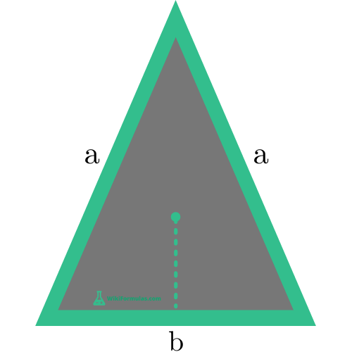 Isosceles Triangle Area Side